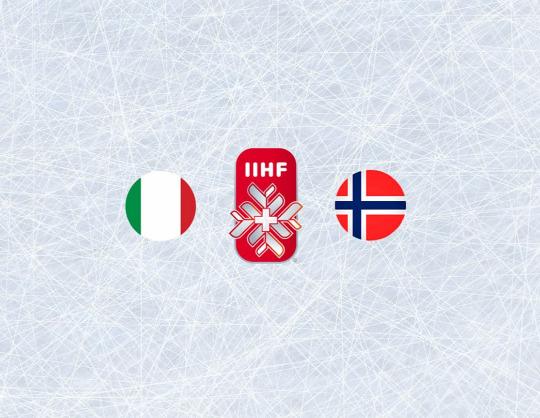 Чемпионат мира по хоккею 2021: Италия - Норвегия