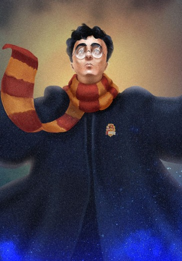 "Cinemaniacs Orchestra ""Harry Potter"" logo"