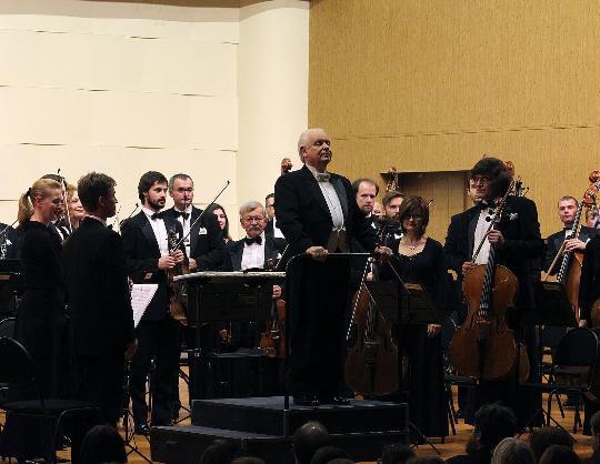 Академический симфонический оркестр Московской филармонии, Юрий Симонов, Николай Луганский