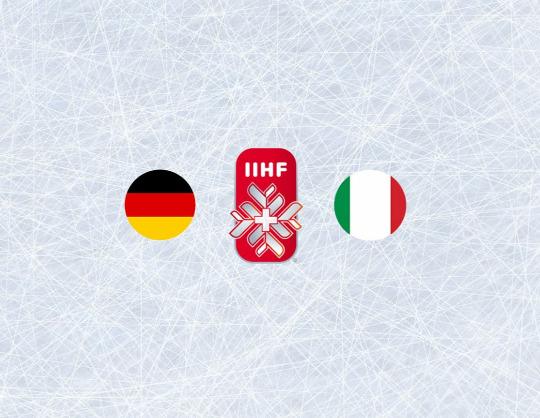 Чемпионат мира по хоккею 2021: Германия - Италия
