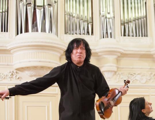 XV международный фестиваль «Звезды на Байкале». Вечер знаменитых пьес и транскрипций для скрипки и фортепиано