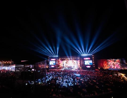 Музыкальный фестиваль «Жара Фест». Гала-концерт Закрытие